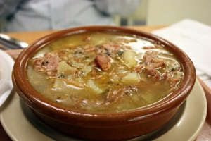 Caldo Gallego, photo credit: Krista